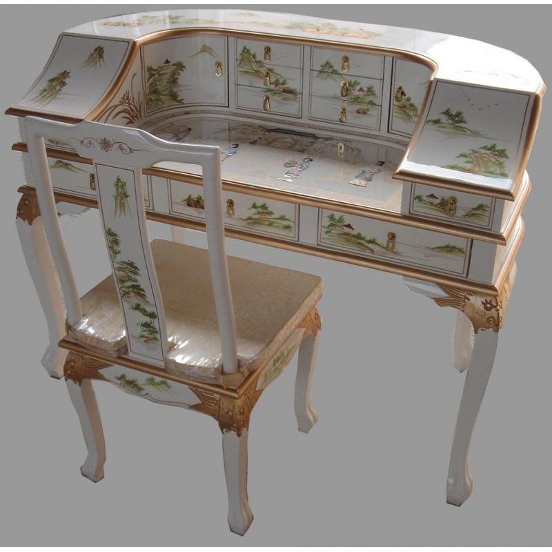 Bureau de chine meubles for Meuble bureau japonais