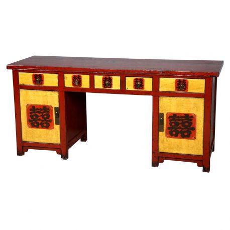Bureau tib tain meubles for Meuble bureau japonais