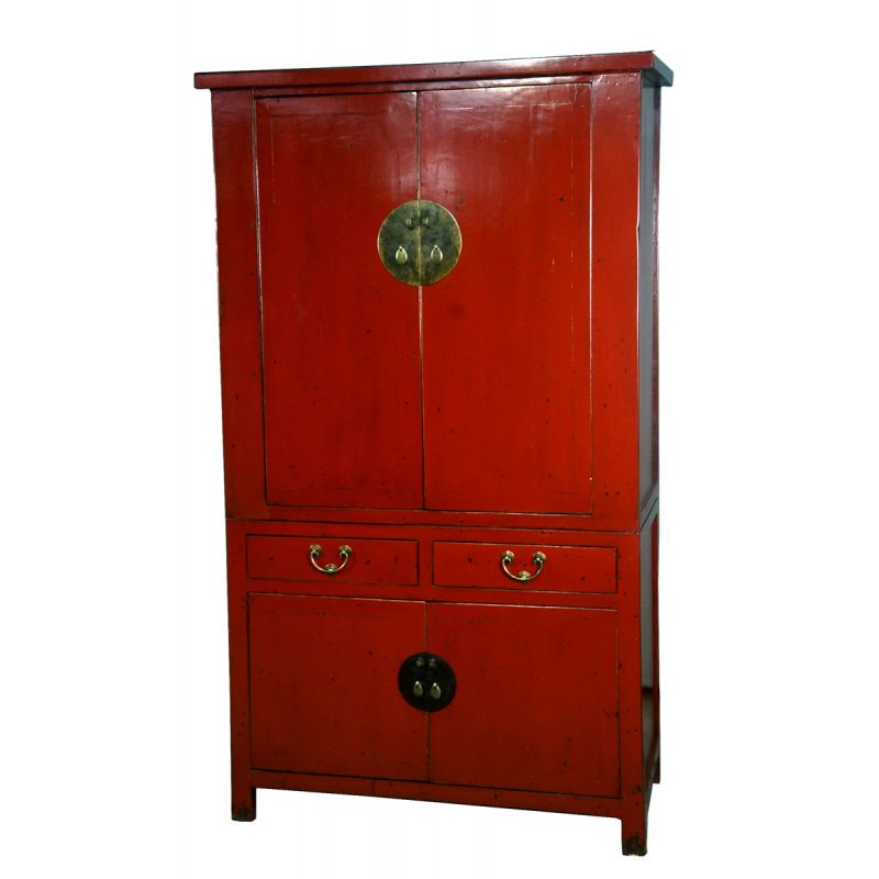 armoire de mariage 4 portes 2 tiroirs meubles. Black Bedroom Furniture Sets. Home Design Ideas