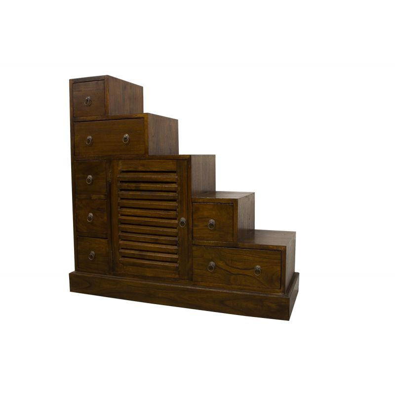 escalier indon sien traversant meubles. Black Bedroom Furniture Sets. Home Design Ideas