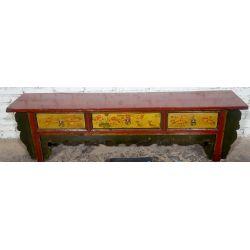 Meuble kang tibétain