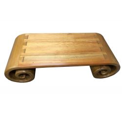 Table-roller shade-wood