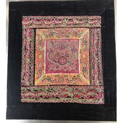 Embroidery chinese ethnic ancient Pingxiu