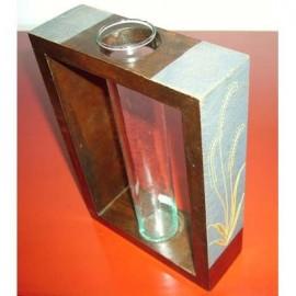 Vase thailandais de la montagne de jade