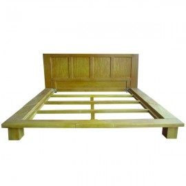 Bed chinese adult-teak