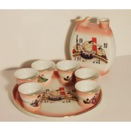 Service, sake, chinese