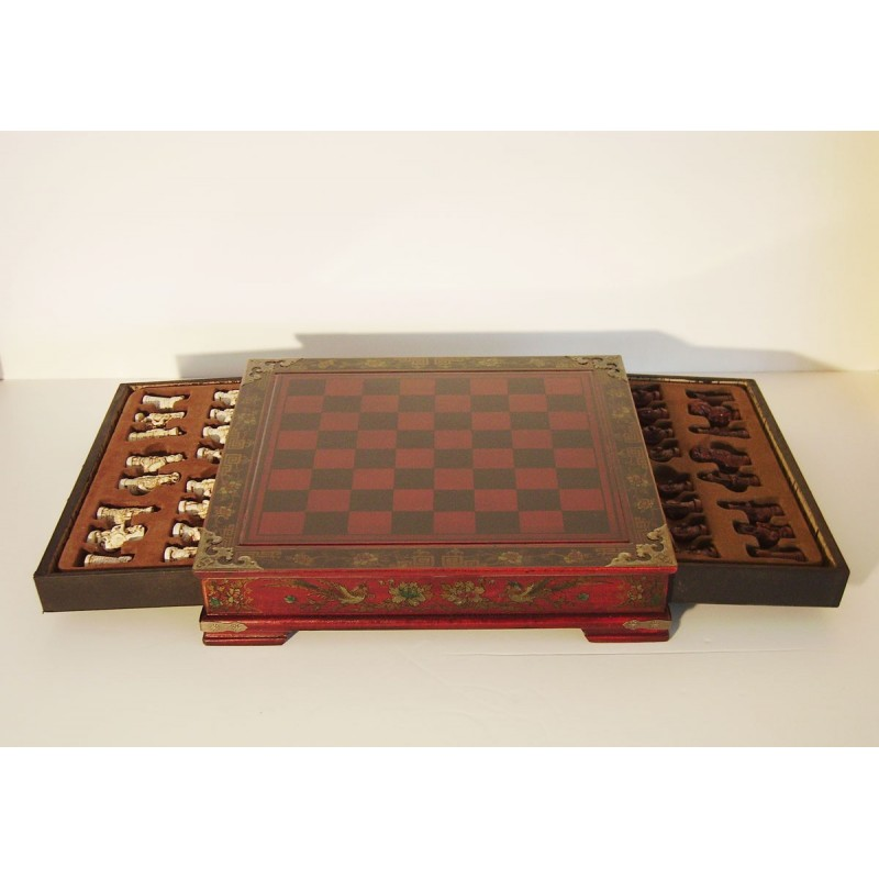 jeu d 39 checs chinois meubles. Black Bedroom Furniture Sets. Home Design Ideas
