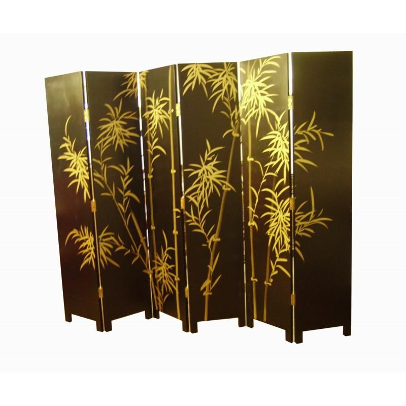 Paravent chinois 6 panneaux meubles for Meuble japonais ancien