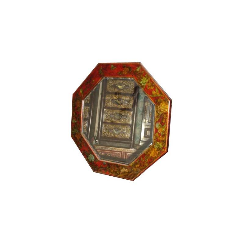 miroir chinois octogonal meubles