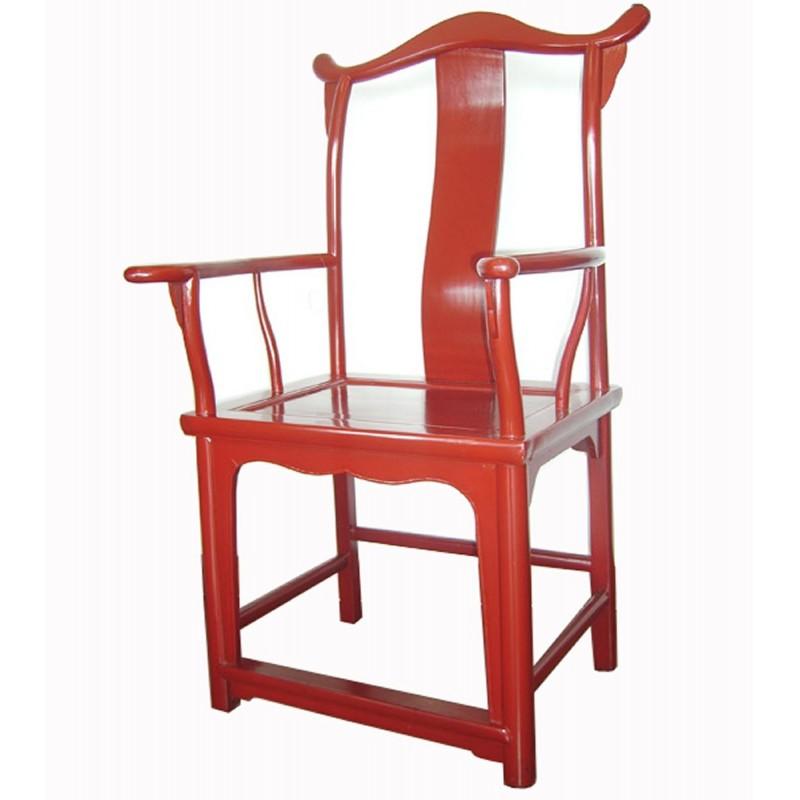 fauteuil chinois en bonnet de lettr meubles. Black Bedroom Furniture Sets. Home Design Ideas