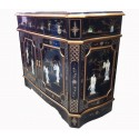 Buffet chinese lacquered inlaid