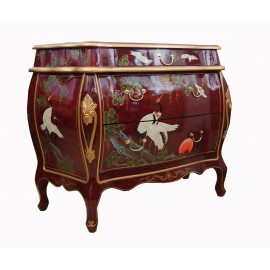 Commode chinoise galbée