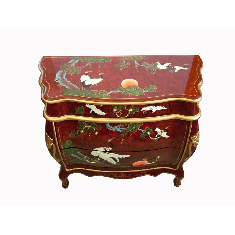 chinese sideboard curved meubles. Black Bedroom Furniture Sets. Home Design Ideas