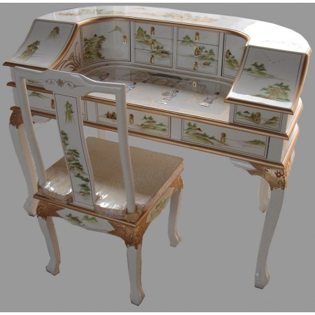 bureau de chine meubles. Black Bedroom Furniture Sets. Home Design Ideas
