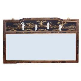Miroir chinois laqué