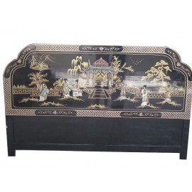 The head of the bed chinese lacquered
