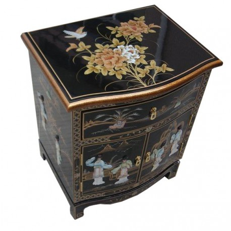 Gallery of chevet chinois agrandir luimage with table de - Mobilier unique avis ...