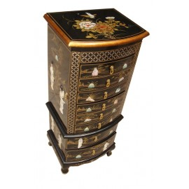 Weekly calendar chinese lacquer