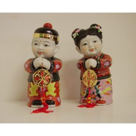 Statuettes of chinese children