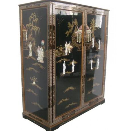 armoire chinoise laqu e meubles. Black Bedroom Furniture Sets. Home Design Ideas