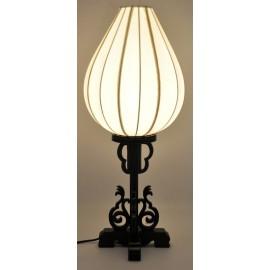 Lampe vietnamienne bois