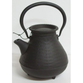 Japanese teapot of the fisherman