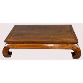 Table opium rectangulaire
