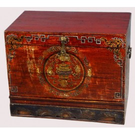 Safety deposit box, tibetan old