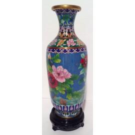 Vase cloisonné de Chine