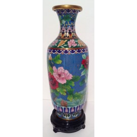 Vase cloisonne China