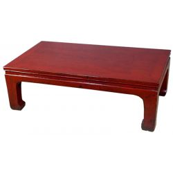 Table opium chinoise noire