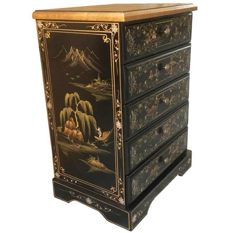 commode chinoise laqu e meubles. Black Bedroom Furniture Sets. Home Design Ideas