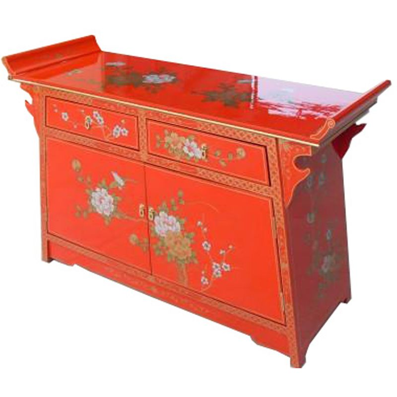 buffet chinois laqu meubles. Black Bedroom Furniture Sets. Home Design Ideas