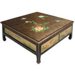 Coffee Table square, 4 drawers