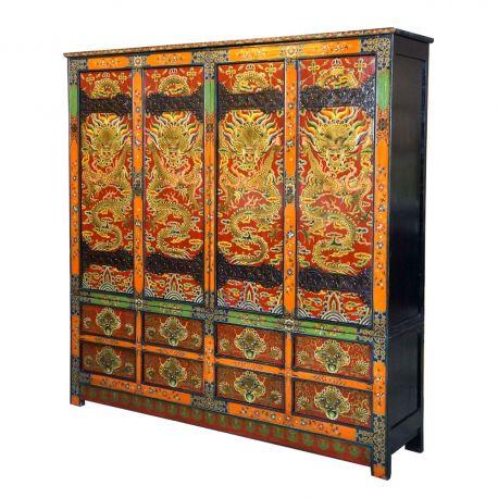 Wardrobe closet tibetan