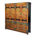 Wardrobe closet of the panchem lama