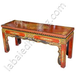Table, bench, tibetan