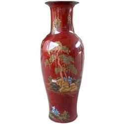 Vase chinois peint à la main