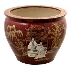 Cache pot chinois