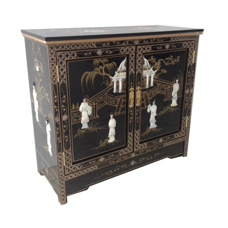 Meuble d 39 entr e chinois meubles for Meuble tele chinois