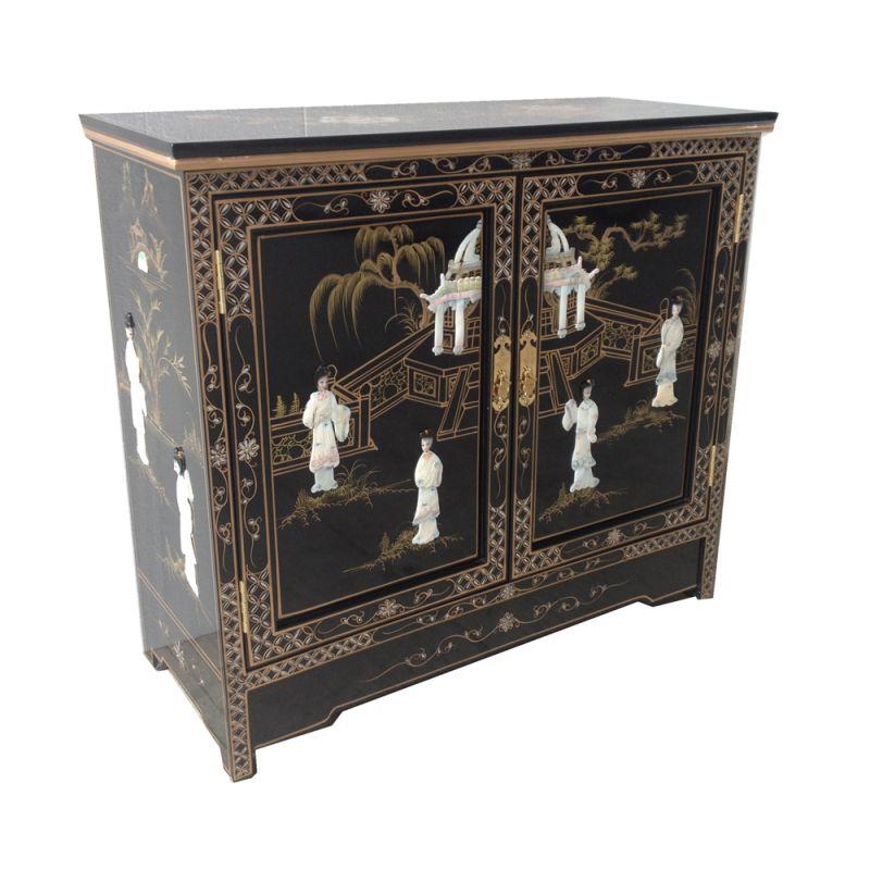 Meuble d 39 entr e chinois meubles for Meuble cabinet chinois