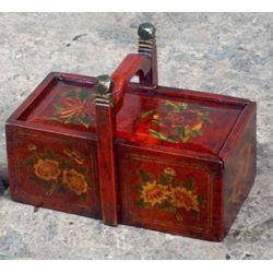 Panier à pique-nique tibétain