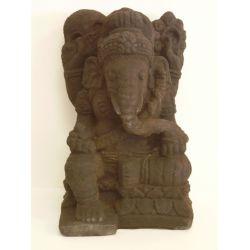 Ganesh en sculpture pierre