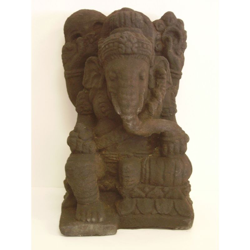 statue bouddha ganesh en sculpture pierre meubles. Black Bedroom Furniture Sets. Home Design Ideas