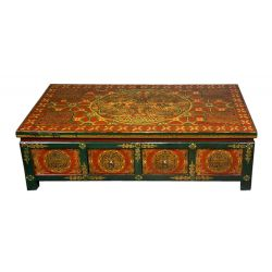 Table tibetan 8 drawers