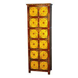 Tibetan cabinet 8 doors