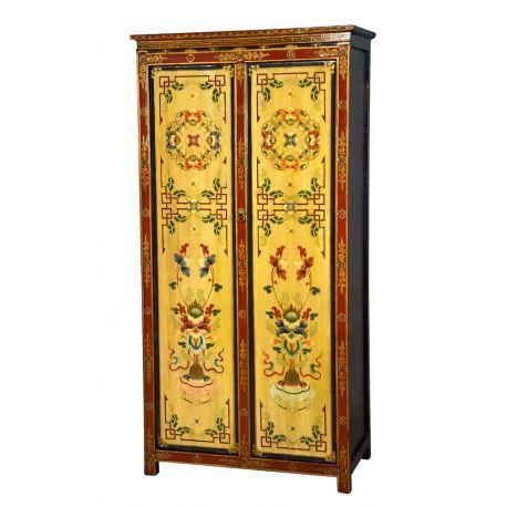 Tibetan cabinet closet