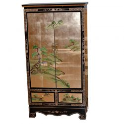 Armoire chinoise laquée