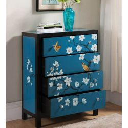 Chinese sideboard blue