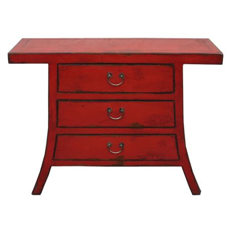 Chinese sideboard 3 drawers